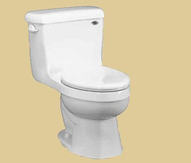 Eljer Toilet Colors Orlando Square Base By