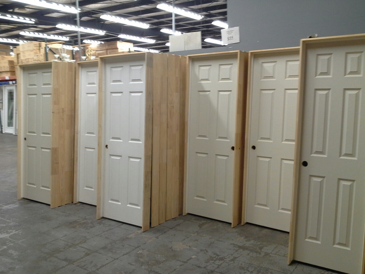 Attractive 960 #5E4E37 6Panel Pre Hung Hollow Core Interior Doors! Wallpaper 6 Panel  Interior Doors